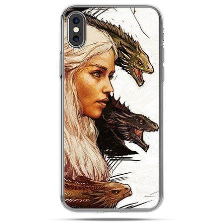 Etui na telefon iPhone X - Gra o Tron Daenerys Targaryen