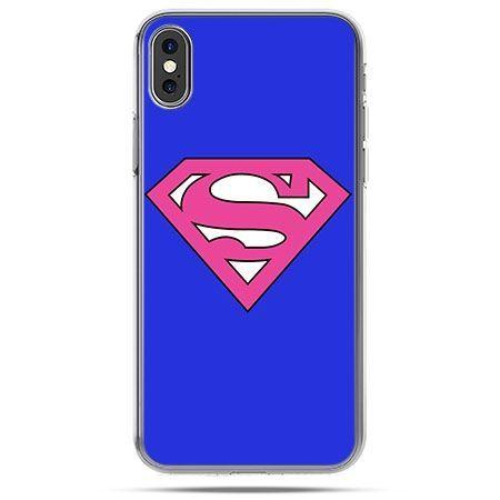 Etui na telefon iPhone X - Supergirl