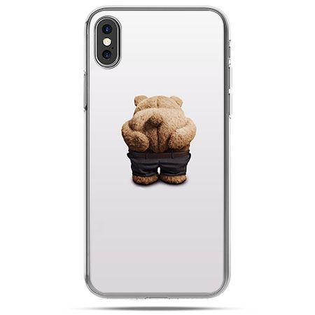 Etui na telefon iPhone X - miś Paddington