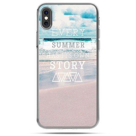 Etui na telefon iPhone X - Summer has its own story