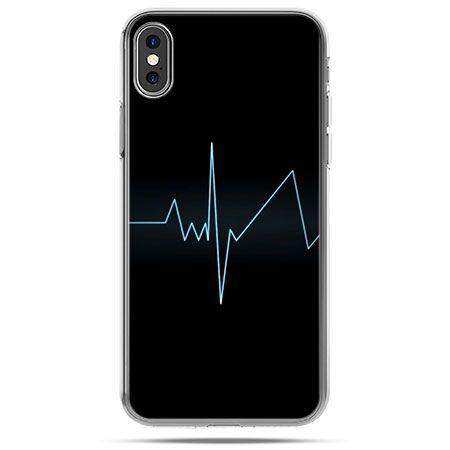 Etui na telefon iPhone X - linia życia