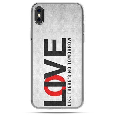 Etui na telefon iPhone X - LOVE LIVE