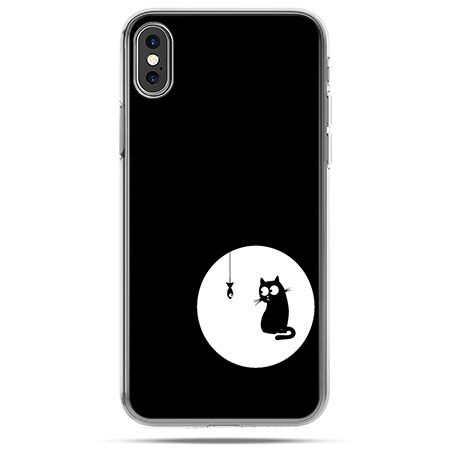 Etui na telefon iPhone X - kotek