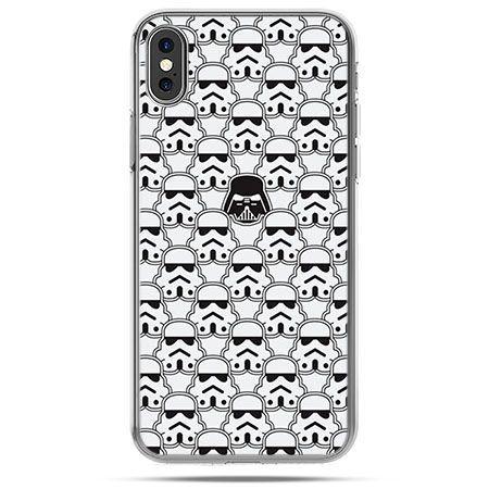Etui na telefon iPhone X - Gwiezdne wojny klony