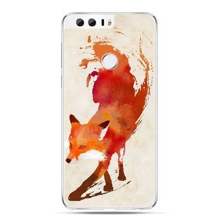 Etui na Huawei Honor 8 - lis watercolor - Promocja !!!