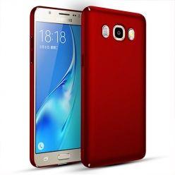 Etui na telefon Samsung Galaxy J7 2016 Slim MattE - czerwony.