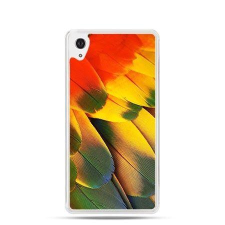 Obudowa z kolorowymi piórami Xperia Z1