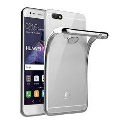 Huawei P9 Lite mini -  etui silikonowe platynowane SLIM tpu - Srebrny.
