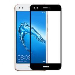 Hartowane szkło na cały ekran 3d Huawei P9 Lite mini - Czarny.