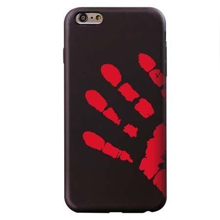Termiczne etui na iPhone 6 Plus / 6S Plus elastyczne - czarny.