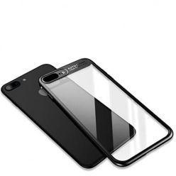 Etui na iPhone 7 Plus -  ROCK Clarity - Czarny.
