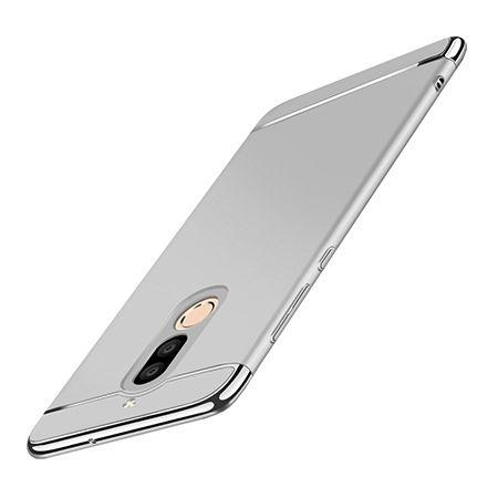 Etui na telefon Huawei Mate 10 Lite - Slim MattE Platynowane - Srebrny.