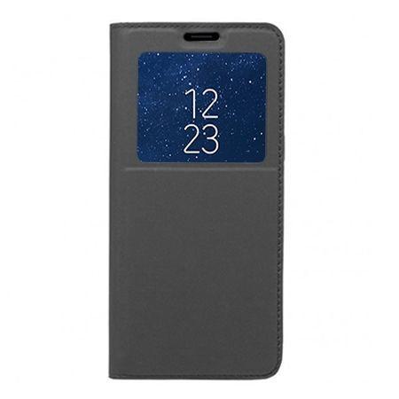 Etui na Galaxy S8 Plus - S View z klapką - Grafitowy.