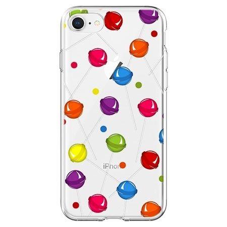 Etui na telefon - kolorowe lizaki.