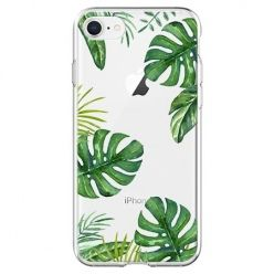 Etui na telefon - Egzotyczne roślina monstera.
