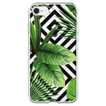 Etui na telefon - egzotyczne liście bananowca.