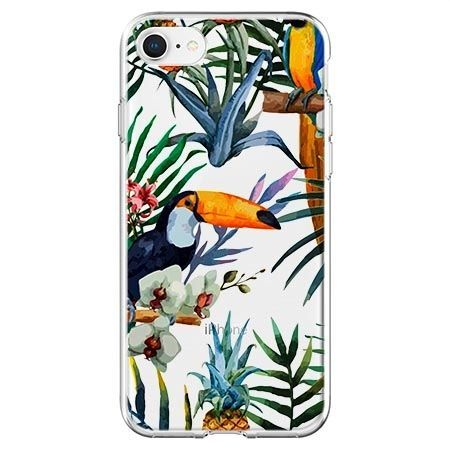 Etui na telefon - egzotyczne tukany.