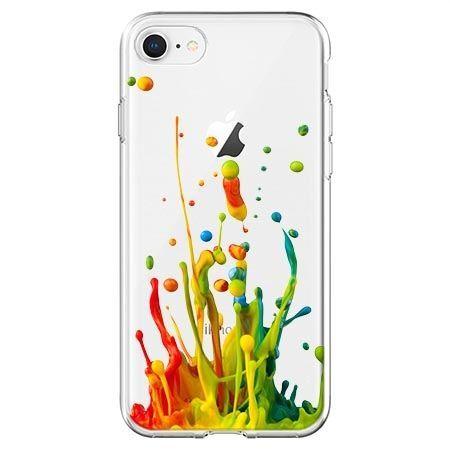 Etui na telefon - kolorowy splash.