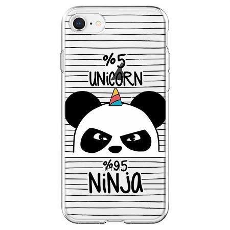 Etui na telefon - ninja Unicorn - Jednorożec.