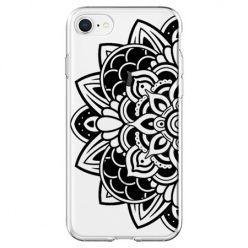 Etui na telefon - kwiatowa mandala.