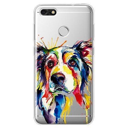 Etui na Huawei P9 Lite mini - watercolor pies.