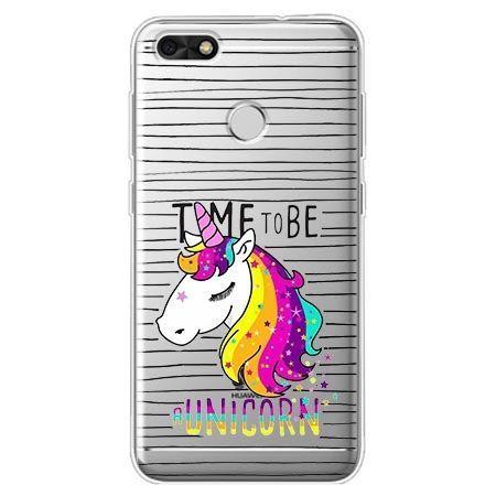 Etui na Huawei P9 Lite mini - time to be unicorn - jednorożec.