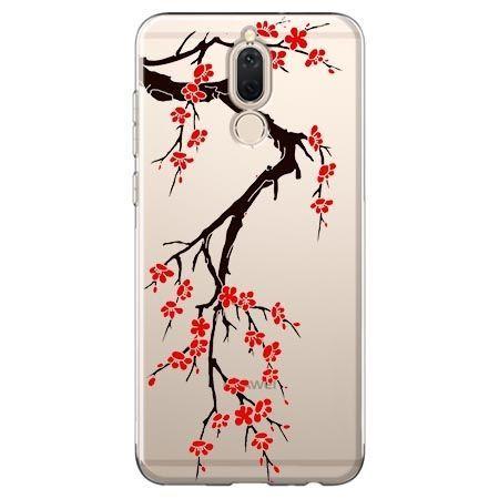 Etui na Huawei Mate 10 lite - krzew kwitnącej wiśni.