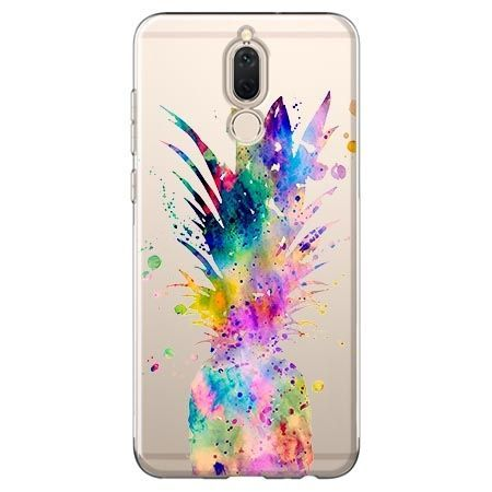 Etui na Huawei Mate 10 lite - watercolor ananasowa eksplozja.