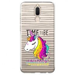 Etui na Huawei Mate 10 lite - time to be unicorn - Jednorożec.