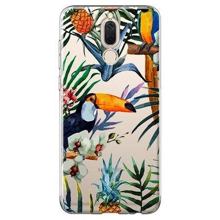Etui na Huawei Mate 10 lite - egzotyczne tukany.