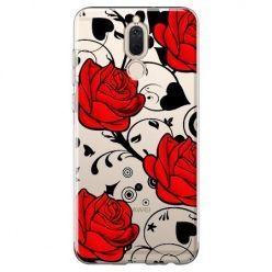 Etui na Huawei Mate 10 lite - czerwone róże.