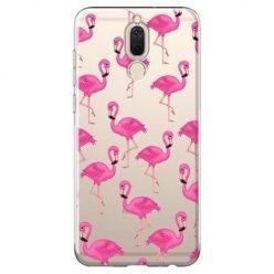 Etui na Huawei Mate 10 lite - różowe flamingi.
