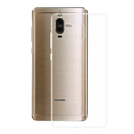 Etui na Huawei Mate 9 Pro -  silikonowe crystal case - bezbarwne.