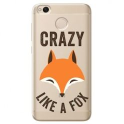 Etui na Xiaomi Redmi 4X - Crazy like a fox.