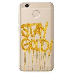 Etui na Xiaomi Redmi 4X - Stay Gold.