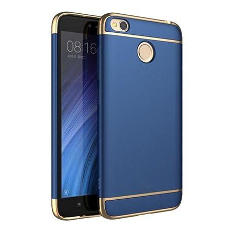 Etui na telefon Xiomi Redmi 4X - Slim MattE Platynowane - Niebieski.