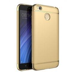 Etui na telefon Xiomi Redmi 4X - Slim MattE Platynowane - Złoty.