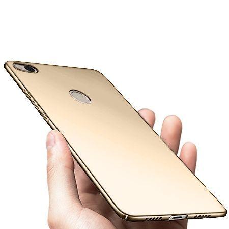 Etui na telefon Xiaomi Redmi 4X -  Slim MattE - Złoty.