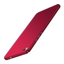 Etui na telefon Huawei P8 Lite - Slim MattE - Czerwony.