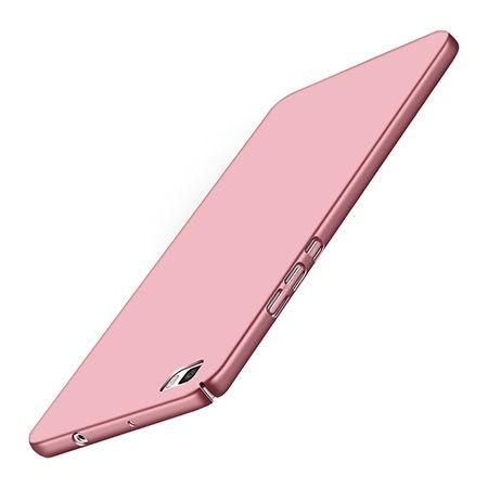 Etui na telefon Huawei P8 Lite - Slim MattE - Różowy.