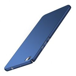 Etui na telefon Huawei P8 Lite - Slim MattE - Granatowy.