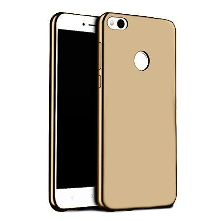 Etui na telefon Huawei P9 Lite 2017 - Slim MattE - Złoty.