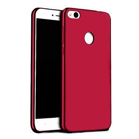 Etui na telefon Huawei P9 Lite 2017 - Slim MattE - Czerwony.