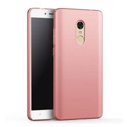 Etui na telefon Xiaomi Redmi Note 4 - Slim MattE - Różowy.
