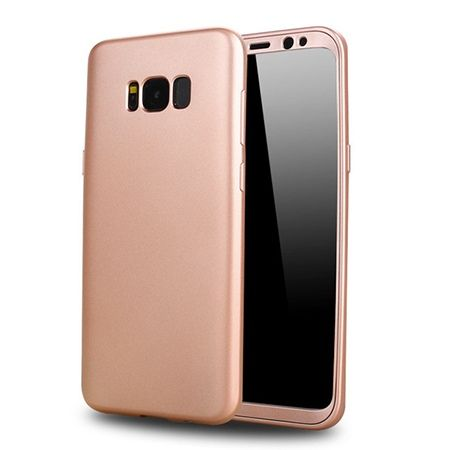 Etui na telefon Samsung Galaxy S8 - Slim MattE 360 - Różowy.