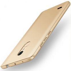 Etui na telefon LG K10 2017 - Slim MattE - Złoty.