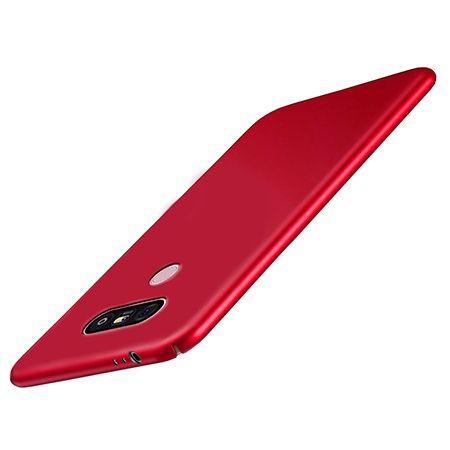 Etui na telefon LG G6 - Slim MattE - Czerwony.