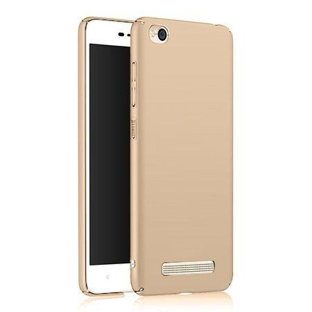 Etui na telefon Xiaomi Redmi 4A - Slim MattE - Złoty.