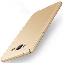 Etui na telefon Samsung Galaxy J3 2016 - Slim MattE - Złoty.