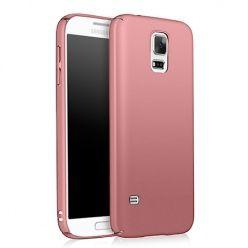 Etui na telefon Samsung Galaxy S5 - Slim MattE - Różowy.